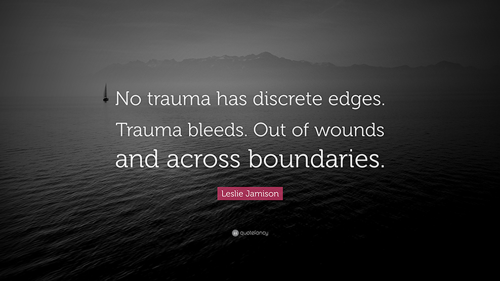 trauma quote ptsd